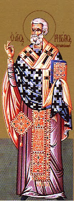 ST. GREGORY, Bishop of Agrigentum