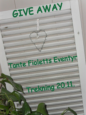 GiveAway hos Tante Fioletts Eventyr