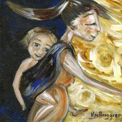 Motherhood Painting: Pieces Of Me