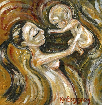 Motherhood Painting: Music