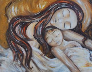 Motherhood Painting: You and Us