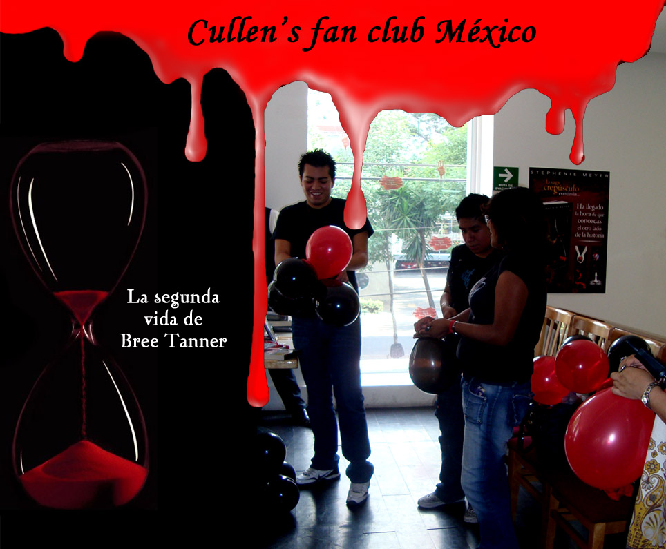 cullen 39 s fan club mexico presentaci n del libro la segunda vida de bree tanner. Black Bedroom Furniture Sets. Home Design Ideas