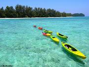 Mantanani island is a group of three isolated islands northwest of Kota . (mantani island)