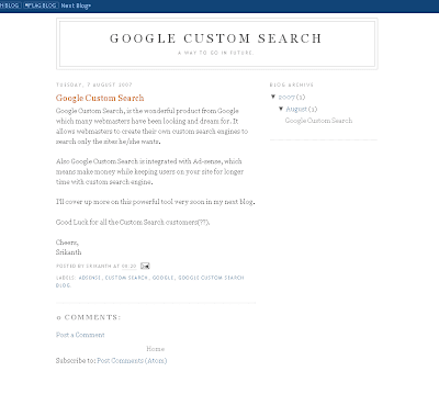 Google Custom Search Blog Hacked Screenshot(Google Custom Search Blog被侵入截图)