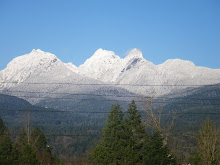 Golden Ears Mountains - the View From my Office!