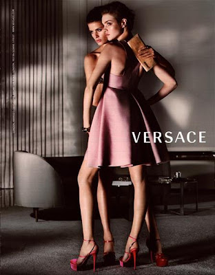 paul sculfor versace. Ends, spring show versace S by