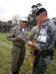 Homenagem no dia de Aniversário do Batalhão de Operações Especiais