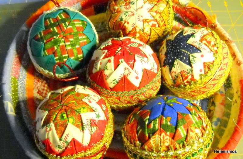 Unique Handmade Custom Quilted Holiday Ornaments – Christmas
