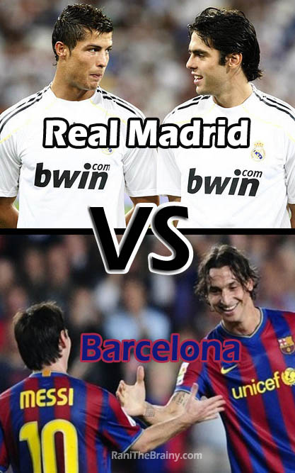 Real Madrid VS Barcelona Clasico
