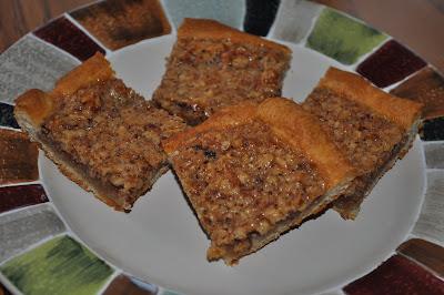 Beth's Favorite Recipes: Quick Crescent Pecan Pie Bars
