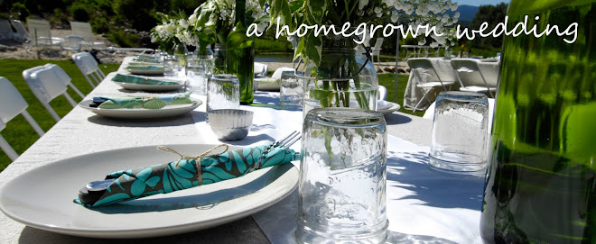 A Homegrown Wedding