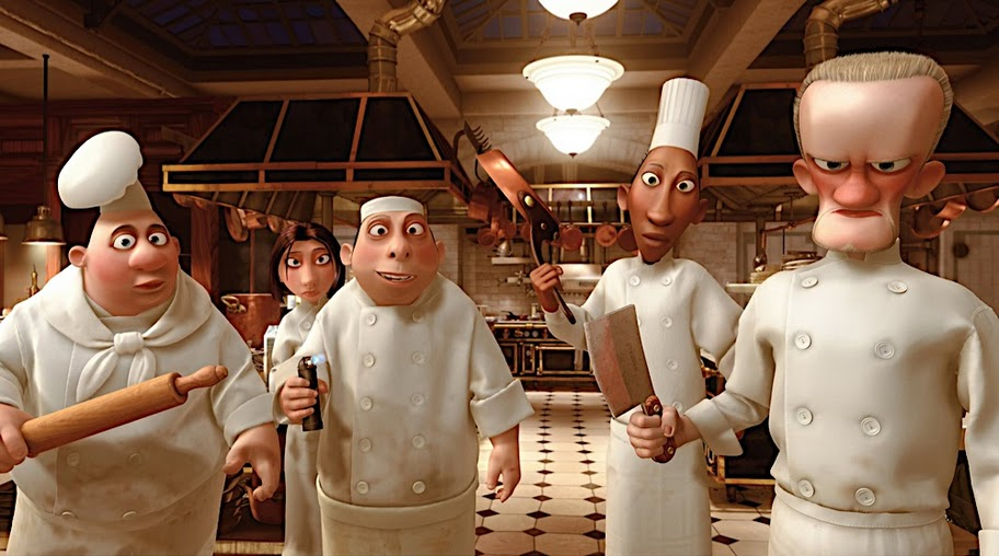 Film Experience Blog: Unsung Heroes: The Chefs of Ratatouille