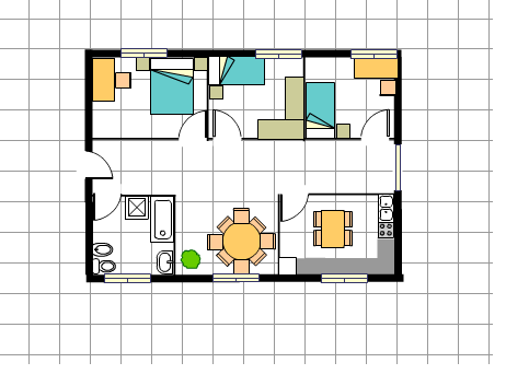 Blog de itziar casa de 75 metros cuadrados for Casa 50 metros cuadrados