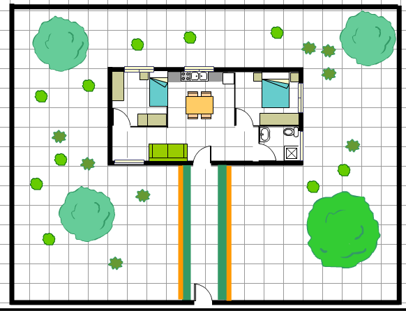 Blog de itziar casa 50 metros cuadrados y 300 metros de for Vivir en 50 metros cuadrados