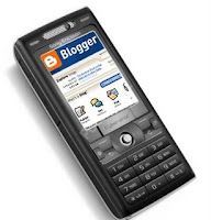 blogger on mobile