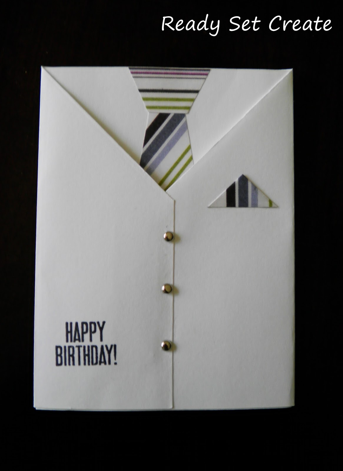 Birthday Cards For Men ~ Ready set create spread some love with a cute card