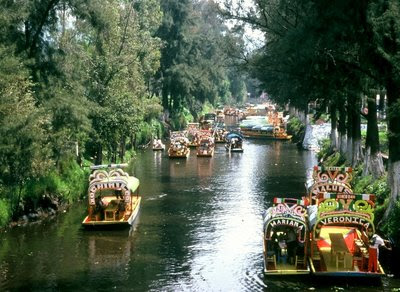 The Tricky Traveler The Floating Gardens Mexico City Mexico