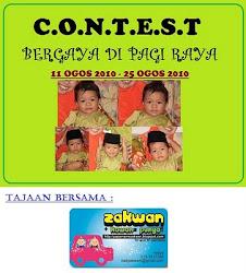 Mama Zakwan Buat Contest