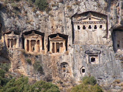 Rock Tombs in Dalyan