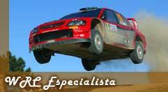 Botão para dicas no WRC Especialista