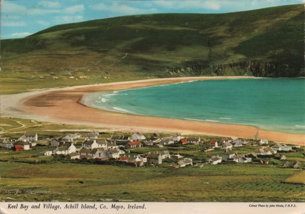 Keel Bay and village, Achill Island