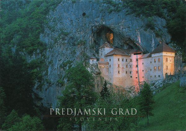 Predjama castle built high into cliff