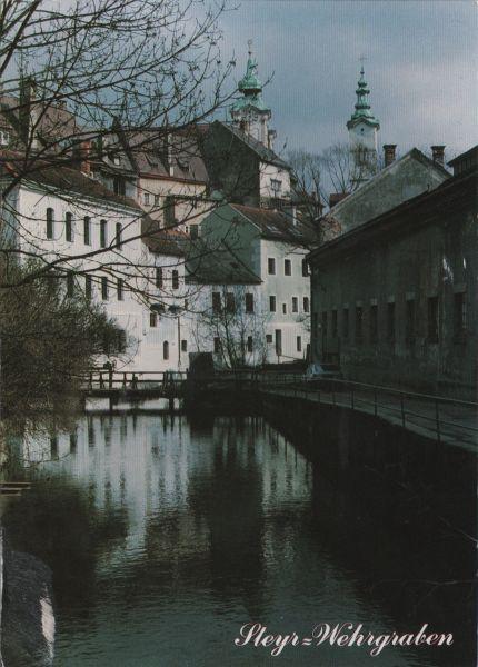 Wehrgraben canal in Steyr