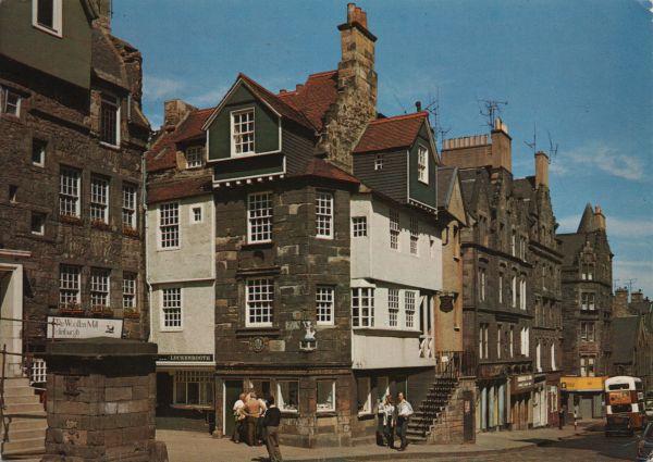 John Knox House on the High Street Edinburgh