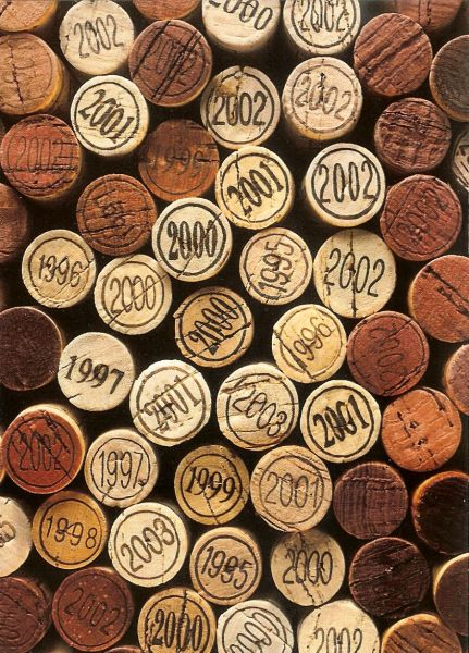 corks from wine bottles