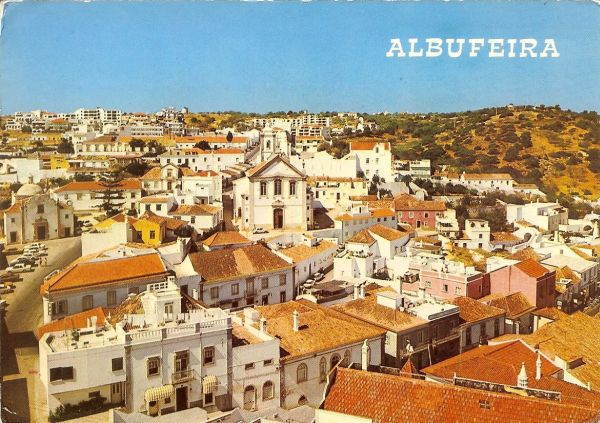 aerial view of old Albufeira