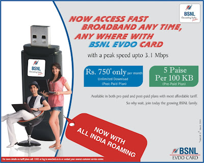 Deepika Padukone and Abhinav Bindra in BSNL EVDO Card Ad