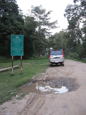 Nagarahole Forest roads in horrible condition