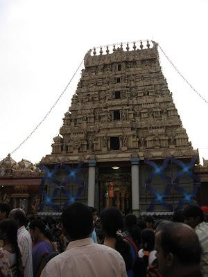 Main Gopura of Kudroli Gokarnanatheshwara Temple, Mangalore