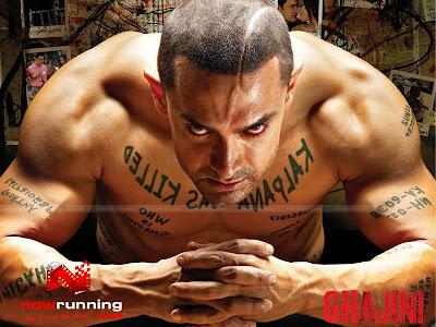 Ghajini Film poster