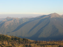 From Blue Mountain in Olympic National Park