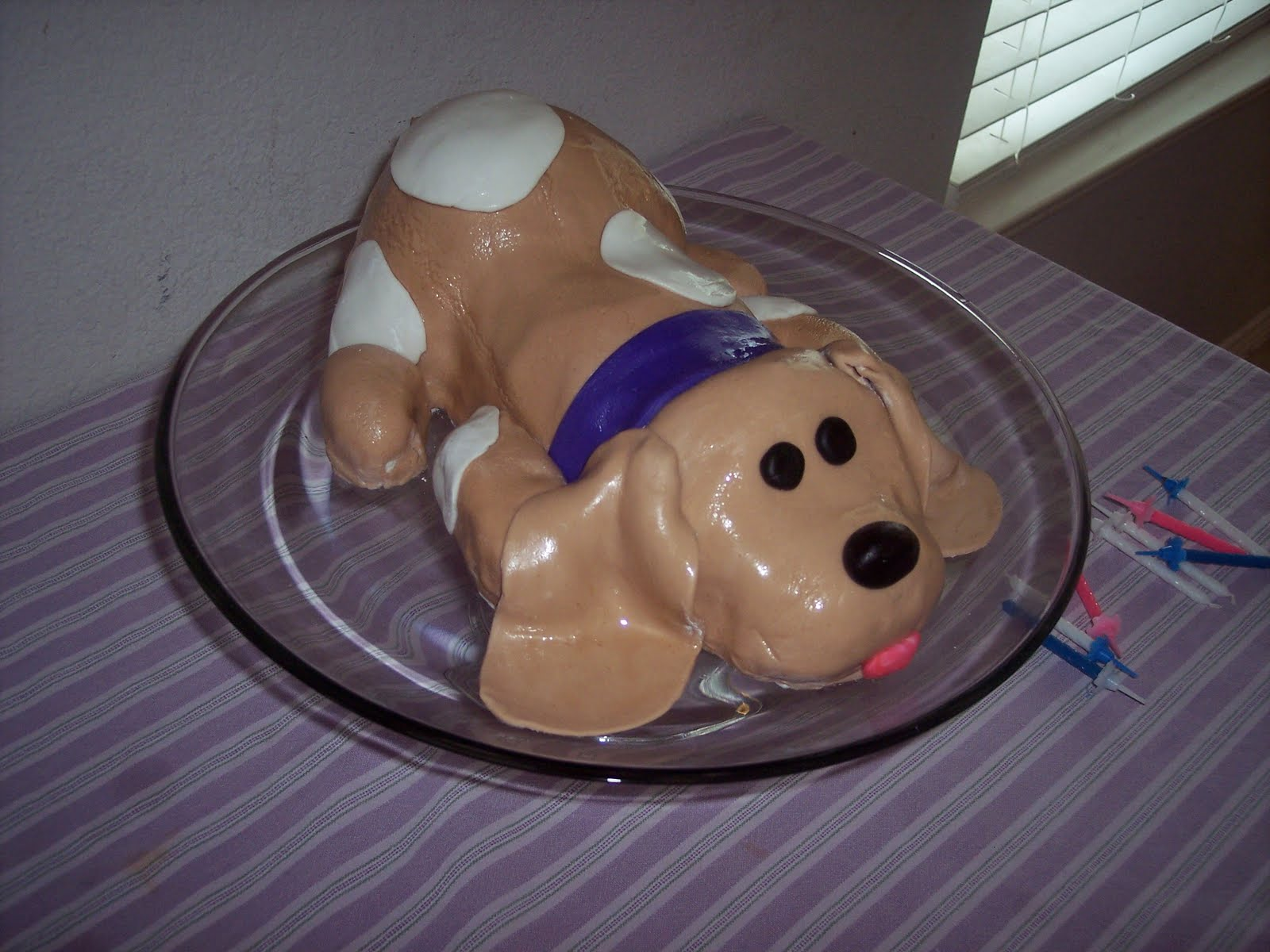 Birthday Cakes for Kids Cute Puppy Dog Cake