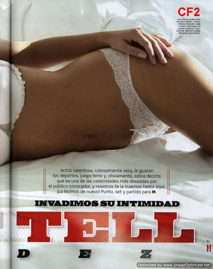 Fotos De Grettell Valdez Revista H En Su Edici N Julio