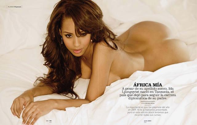 Playboy USA 2008.03 Ida Ljungqvist Miss March