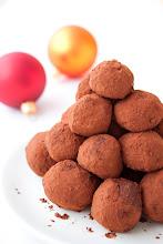 Narancsos-csokoládés trüffel