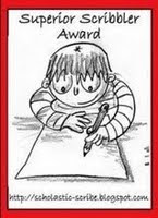 Superior Scribbler Award!