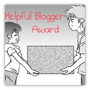 Helpful Blogger Award!
