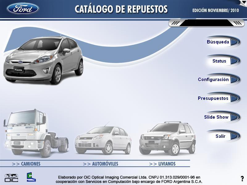 Repuestos ford catalogo de piezas for Piezas de fontaneria catalogo