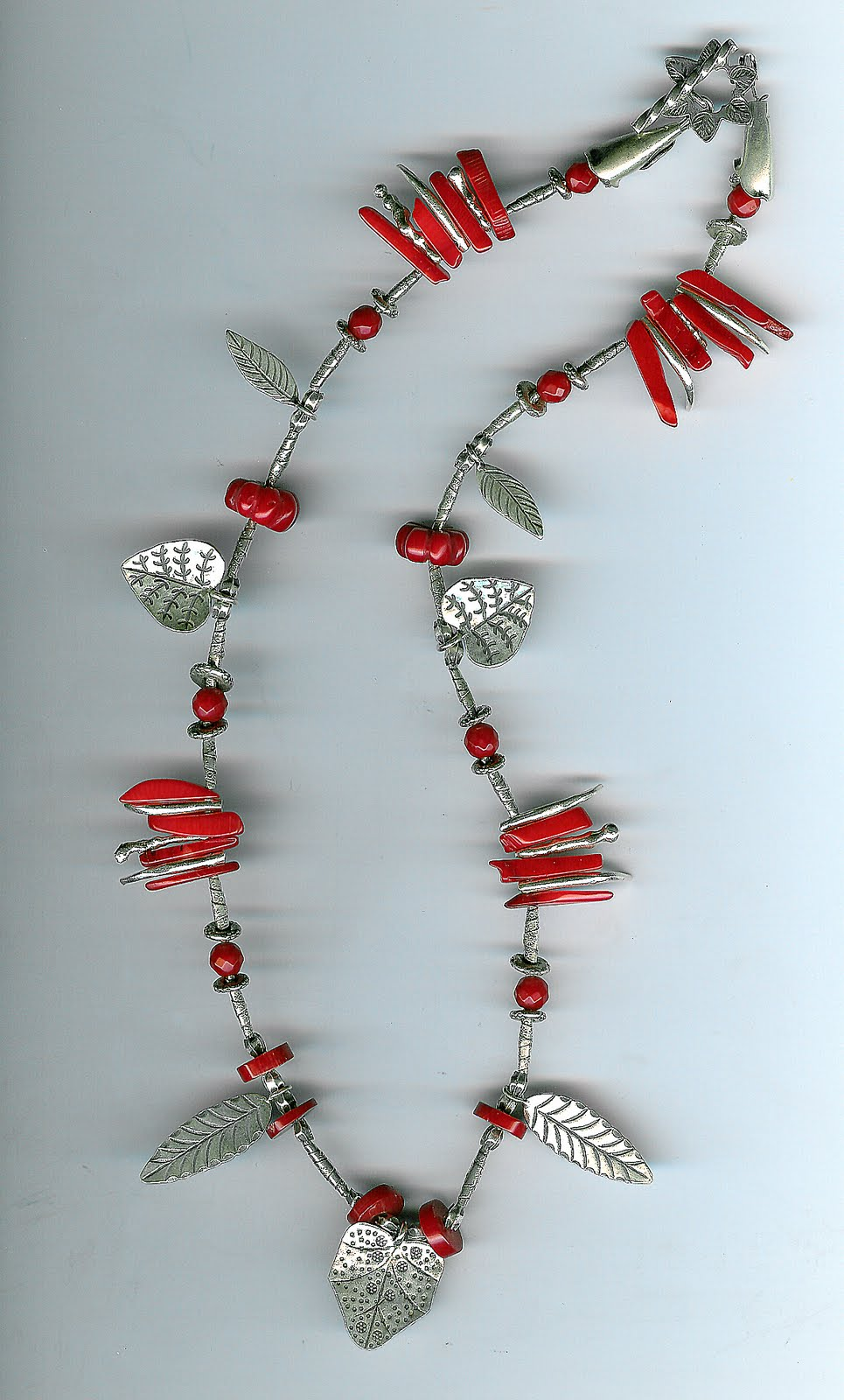 133. Coral with Karen Hill Thai Sterling Silver
