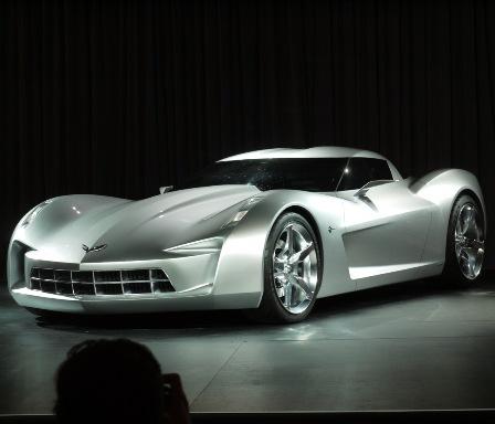 Corvette Stingray 2010 Concept on Cars  Corvette Transformers