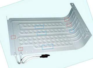 Tips memperbaiki Evaporator kulkas yang bocor