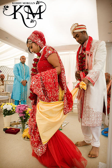 Indian wedding is the perfect mix of serious ritual rituals and customs