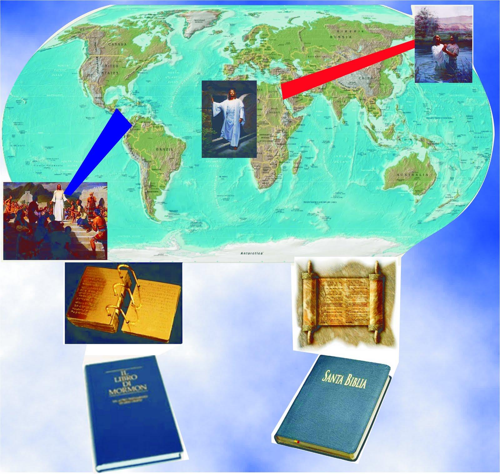 SUD Nashenk UNA AYUDA VISUAL LIBRO DE MORMON Y BIBLIA