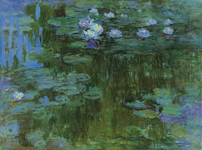 obras de monet. #39;Nympheas#39;, de Claude Monet