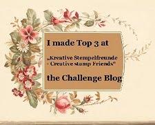 Top 3 Banner für die 15. Challenge