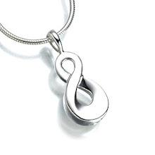 Solid Silver Infinity keepsake